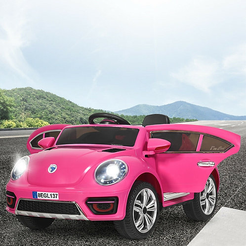 Kids Electric Ride On Car Battery Powered -Pink