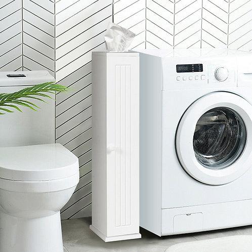 Toilet Tissue Storage Floor Cabinet-White
