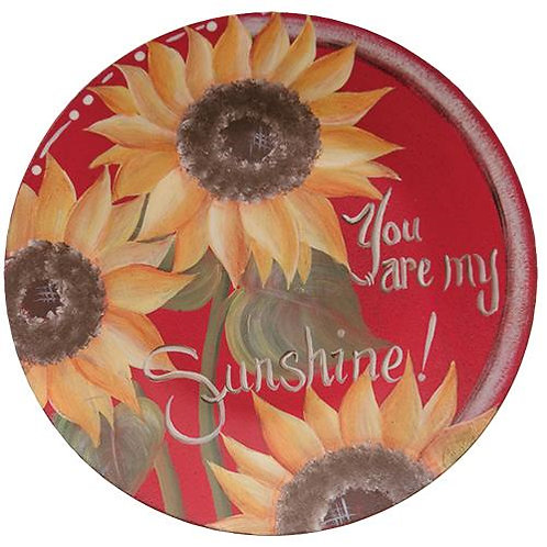 *You are my Sunshine Plate