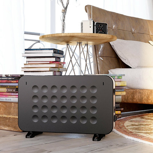 1500W Wall Mounting Convector Heater w/ Stand Base