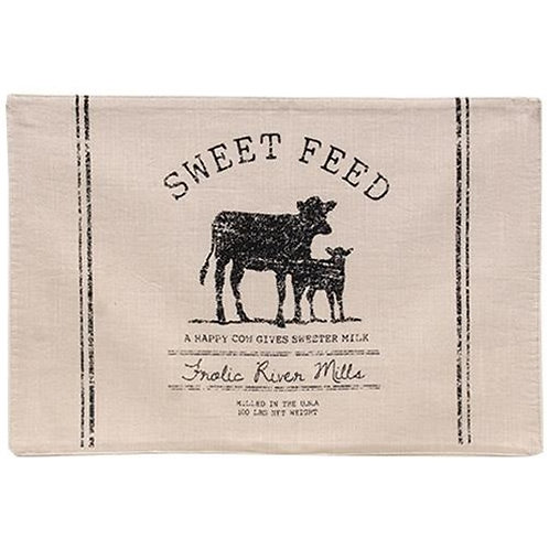 Pack of 2 Sweet Feed Farmhouse Placemat