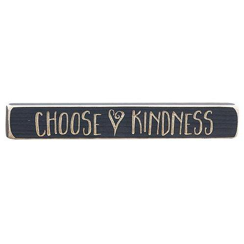 """Choose Kindness Engraved Block 12"""""""