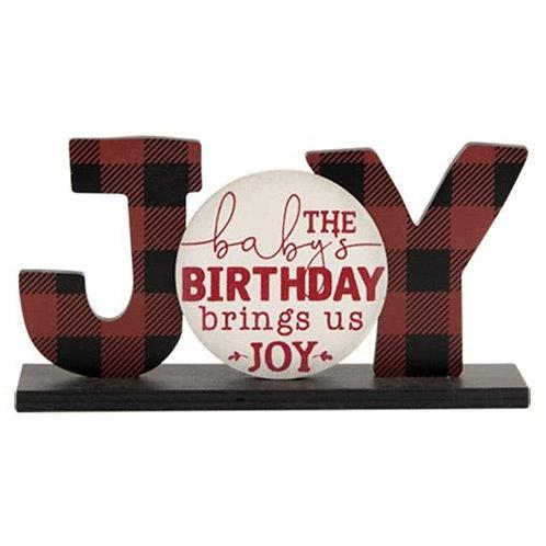*Baby's Birthday Brings Joy Sitter