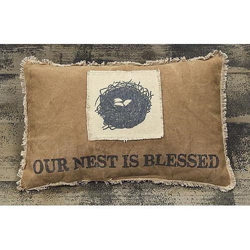 *Nest is Blessed Pillow