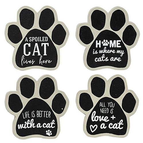 4/Set Cat Paw Magnets