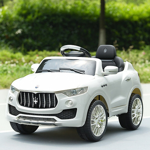 6V Licensed Maserati Kids Ride On Car-White