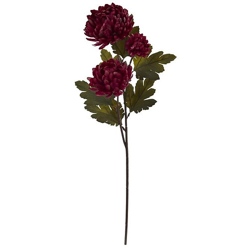 "29""  Chrysanthemum Artificial Flower (Set of 12)"