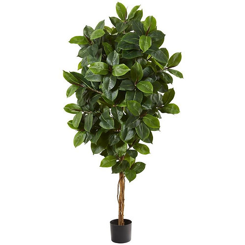 "68""  Rubber Leaf Artificial Tree"