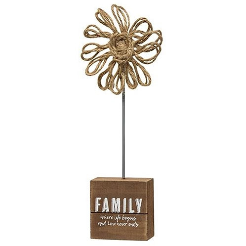 *Family Twine Flower (Pack of 2)