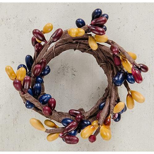 "Mini Pip Berry Ring Colonial Mix 1.5"""