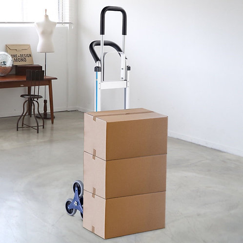 2-in-1 550 lbs Hand Truck Stair Aluminum Cart Dolly