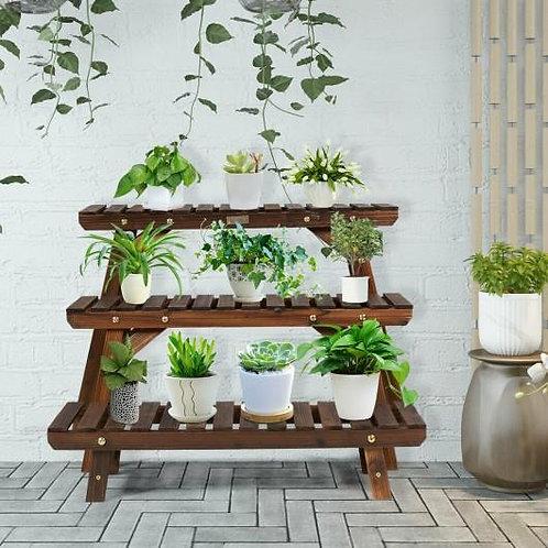 3 Tier Step Design Plant Shelf Rack