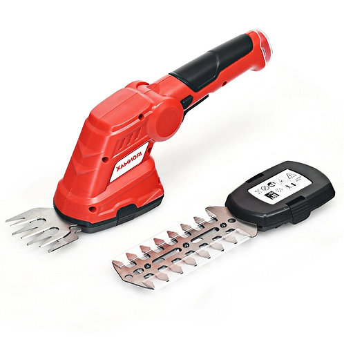 3.6V 2-in-1 Cordless Grass Cutter Shrub Trimmer