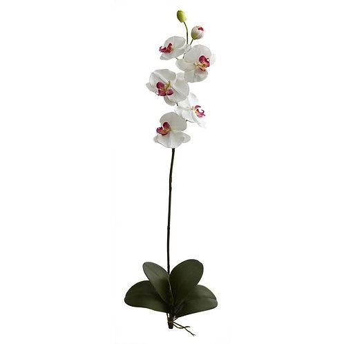 """40""""  Large Orchid Phalaenopsis Artificial Flower (Set of 3)"""