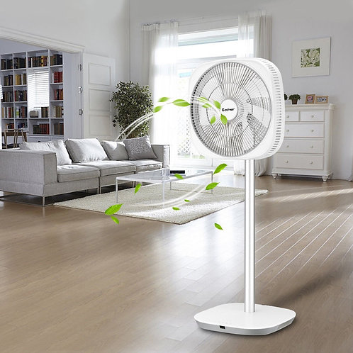 Energy Saving 3D Oscillation DC Stand Fan with Remote Control