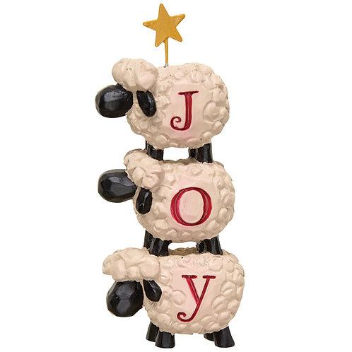 *Joy Stacked Sheep w/Star
