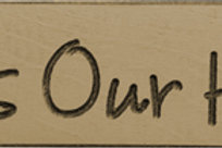 """Bless Our Home Engraved Block 9"""" (Pack of 4)"""
