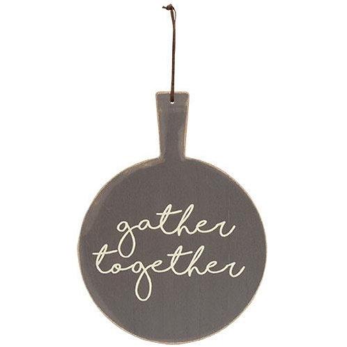 Gather Together Cutting Board Wall Decor