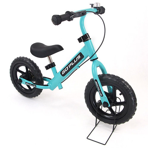 """12"""" Four Colors Kids Balance Bike Scooter with Brakes and Bell-Navy"""
