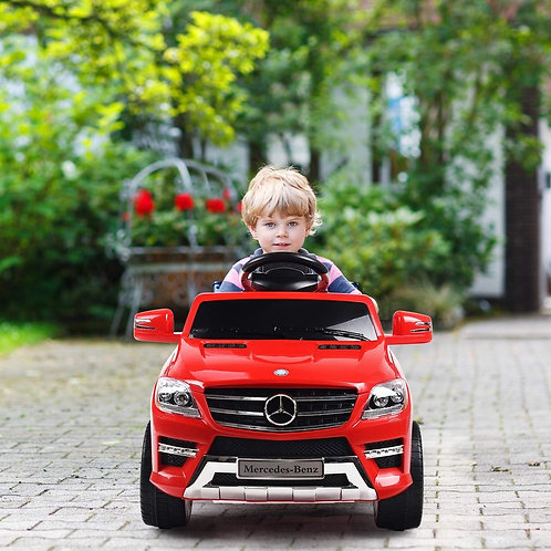 6V Mercedes Benz Kids Ride on Car with MP3+RC-Red
