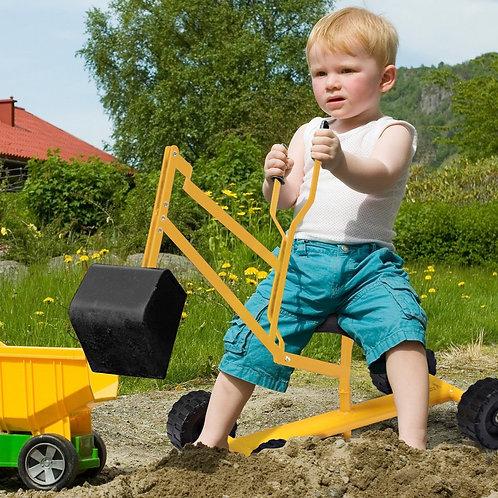 Heavy Duty Steel Frame Kid Ride-on Sand Digger