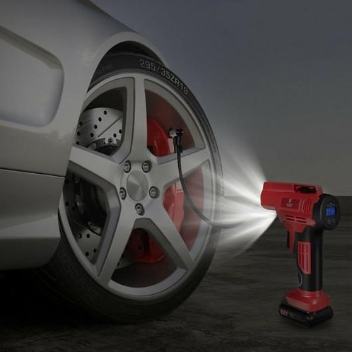 12V Portable Cordless Tire Inflator Air Compressor