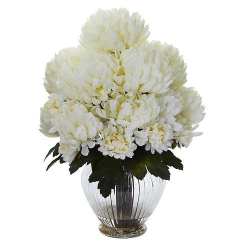 Mum Artificial Arrangement in Vase