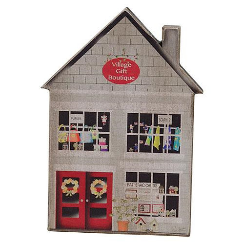 Pack of 4 *Village Gift Boutique House