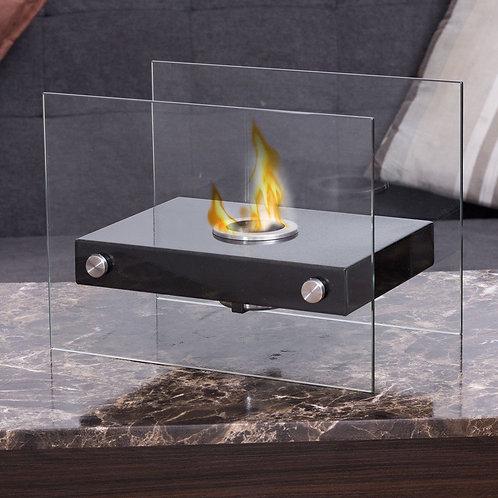 Portable Ventless Firepit Bio Ethanol Tabletop Fireplace