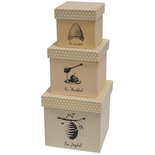 3/Set Bee Joyful Boxes