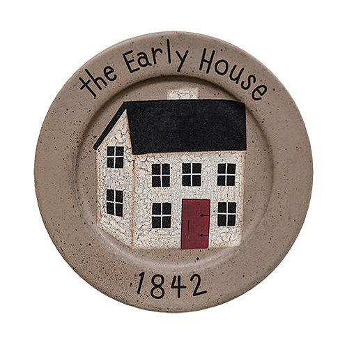 *The Early House Plate