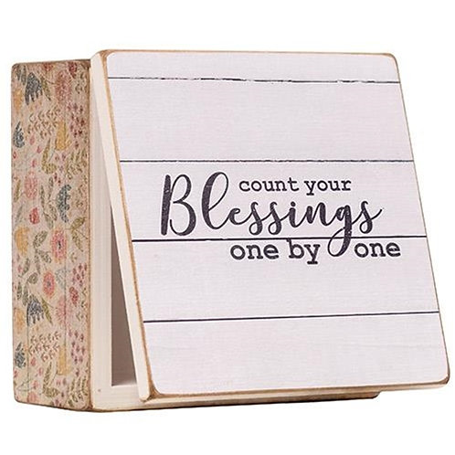 *Blessings Note Box