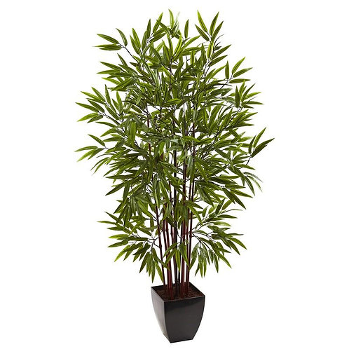 5' Bamboo Silk Tree w/Planter