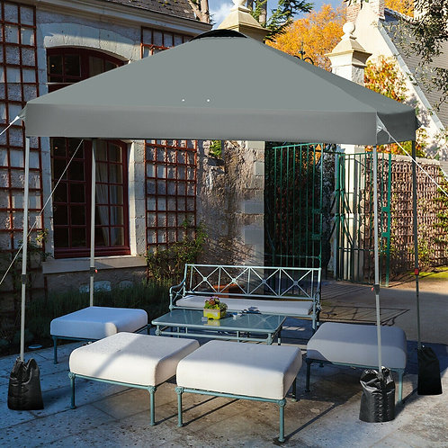 10�x10' Outdoor Commercial Pop up Canopy Tent-Gray