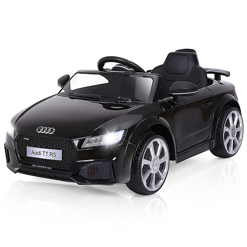 12V Audi TT RS Electric Remote Control MP3 Kids Riding Car-Black