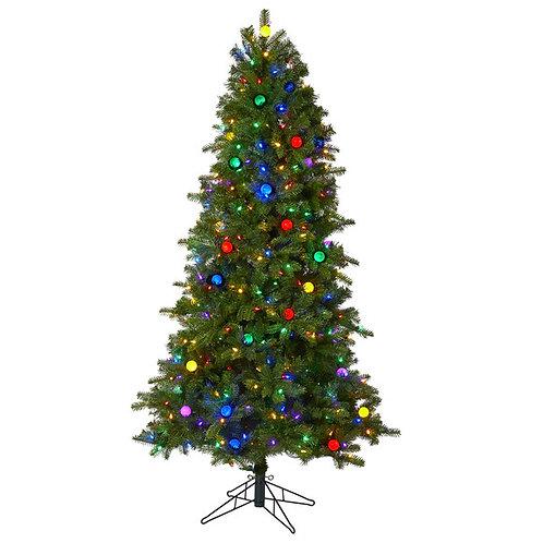 6.5' Montana Mountain Fir Artificial Christmas Tree