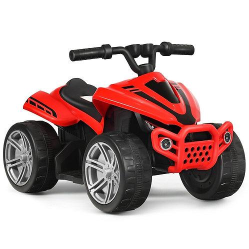 Kids 4-Wheeler ATV Quad Battery Powered Ride On Car-Red