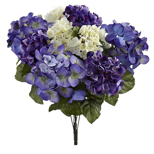 "19""  Hydrangea Artificial Plant (Set of 3)"