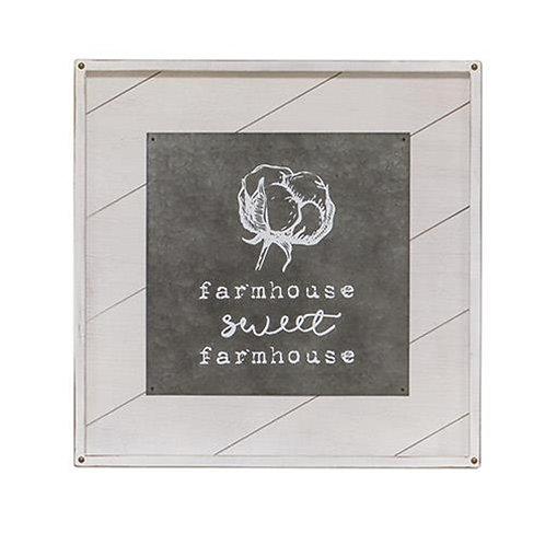 *Farmhouse Sweet Farmhouse Wall Art