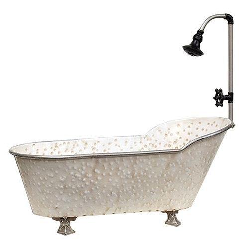2/Set Vintage Bathtub Planters