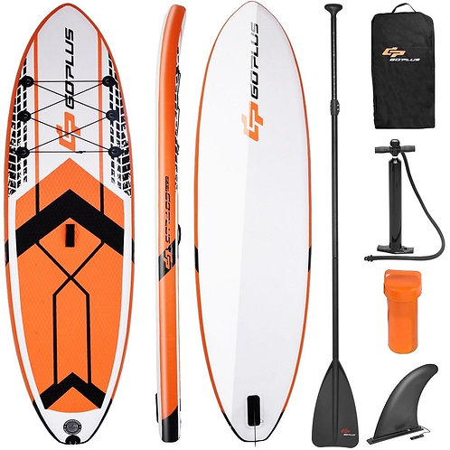 10.5' SUP Inflatable Stand up Paddle Board w/ Adjustable Backpack