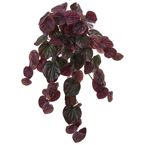 "25""  Peperomia Artificial Hanging Bush (Set of 6) (Real Touch)"