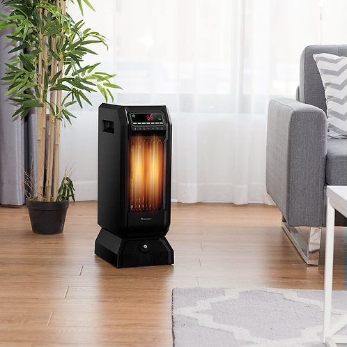1500W 12H Timer Remote Control Electric Space Heater