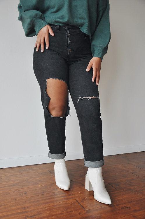 Vintage Black Jeans