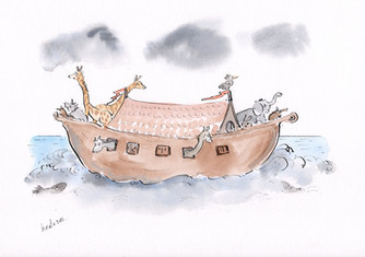 Noah and the ark.