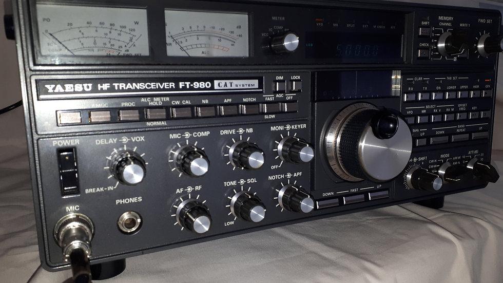 Yaesu FT980 HF Transceiver