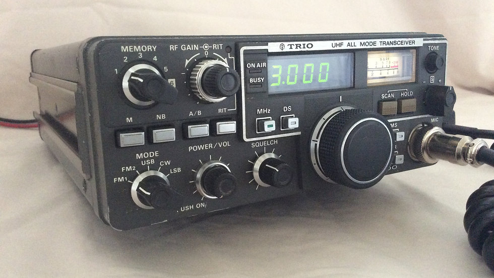 TRIO 9500 UHF All Mode Transceiver