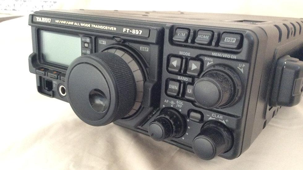 Yaesu FT-897 DSP HF/VHF/UHF