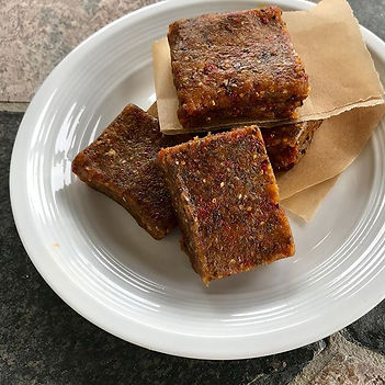 These Apricot Walnut Bars are a great sn