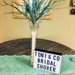 Toni & Co. Bridal Shower
